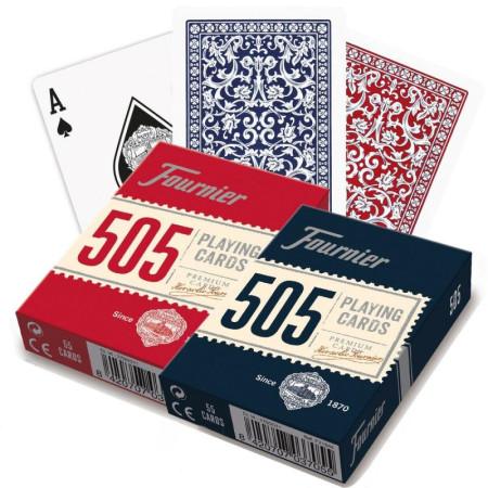 "Карты ""Fournier no. 505 - Red / blue"""