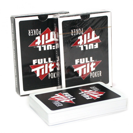 """Карты для покера """"Full Tilt"""" 100% пластик"""