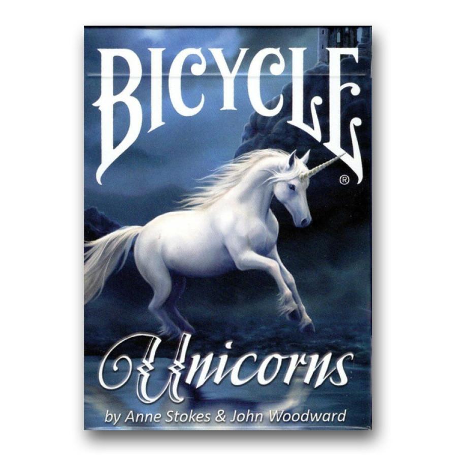 """Карты """"Bicycle Anne Stokes Unicorn"""""""
