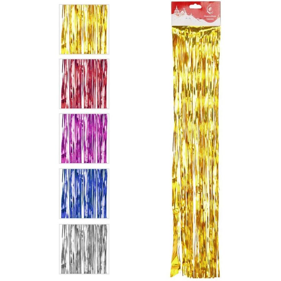 Дождик 1,5 м 9 см, цветной, в ассорт