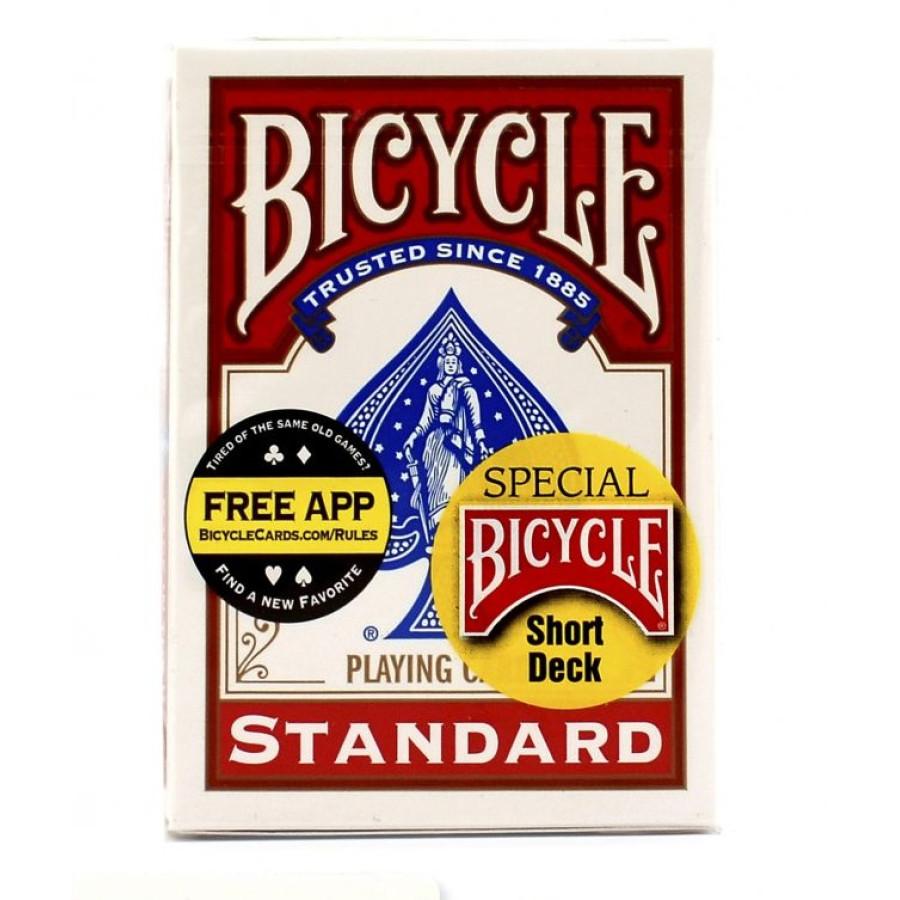 Карты Bicycle Standard Short Red