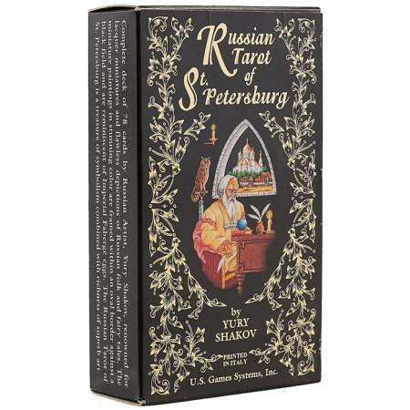 """Карты Таро: """"Russian Tarot of St. Petersburg"""""""