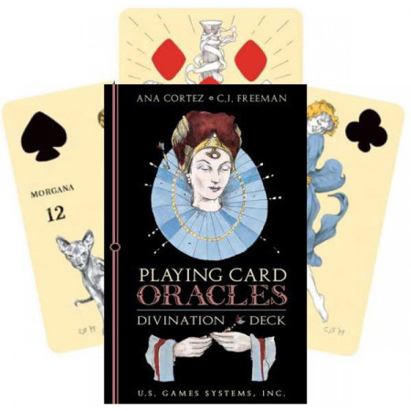 """Карты Таро: """"Playing card Oracle deck"""""""