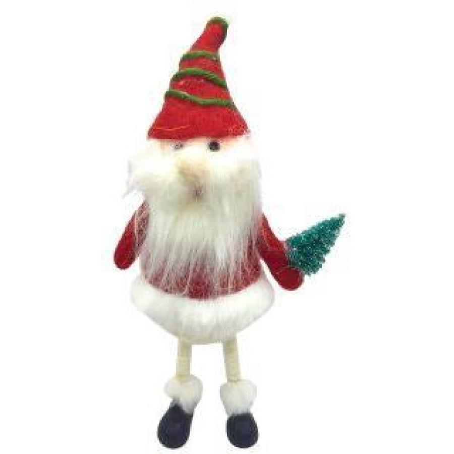 Фигурка Санта с елочкой 12,5*6*22 см