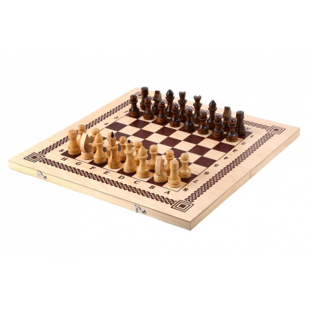 Игра два в одном (шахматы, шашки)