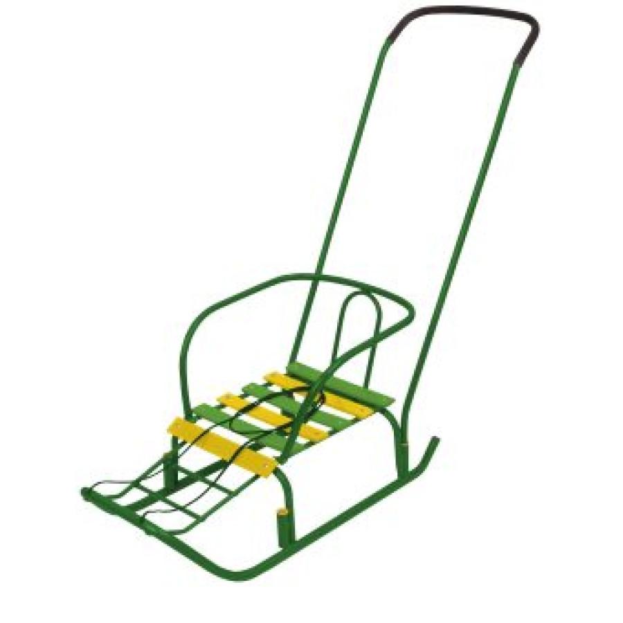 Санки Ветерок 3 зеленый