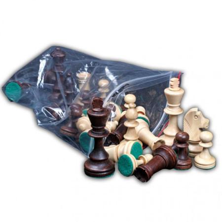"""Шахматы """"Стаунтон 5"""", (фигуры в отдельном пластиковом пакете), Wegiel"""