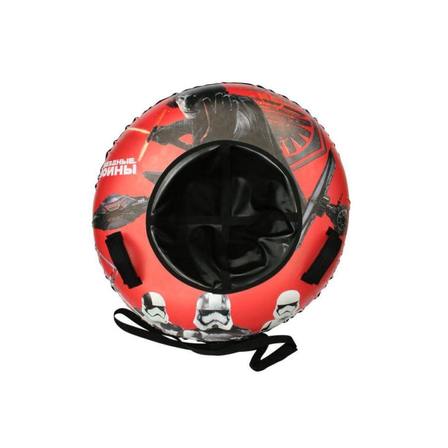 Звездные Войны тюбинг 1TOY - материал глянцевый пвх 500 гр/кв.м., 85см, буксировочный трос