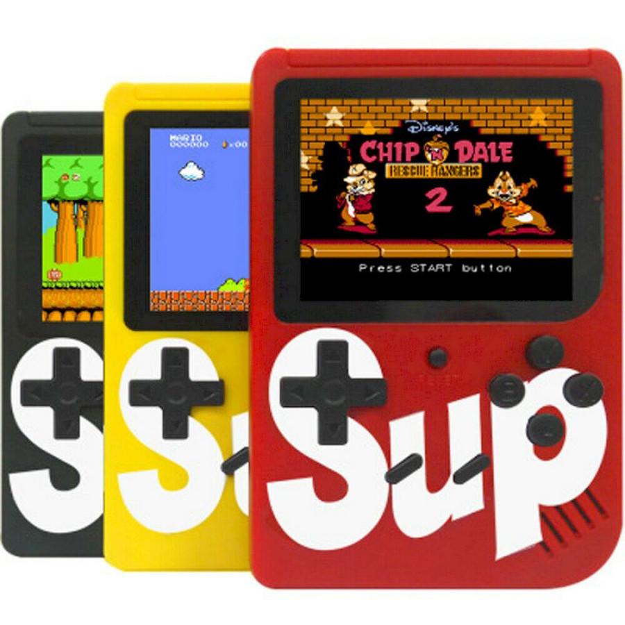Портативная игровая приставка Sup 8-bit 400 в 1
